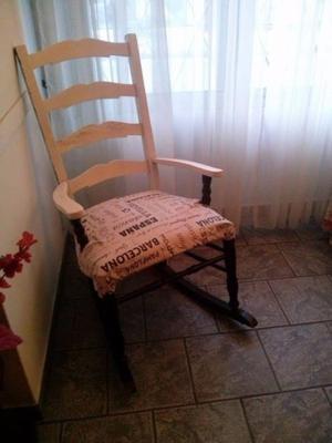 1 silla mecedora
