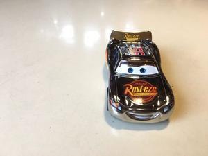 Cars Rayo Mc Queen Plata Cromo