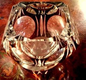 Cenicero de Cristal Antiguo