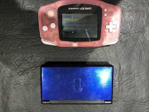 Consola Gameboy Advance Y Ds Con Juegos En Lote
