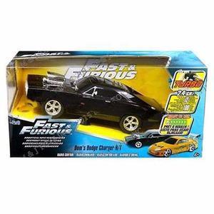 Rápido Y Furioso - Dodge Charger Con Radio Control - Jada