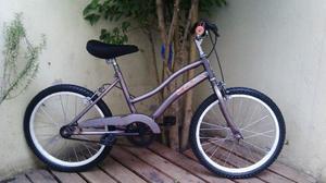 Bicicleta De Paseo Mila Rodado 20 Excelente Lista Para Usar!