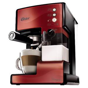 Cafetera Express Oster Prima Latte  Roja, 15 Bares