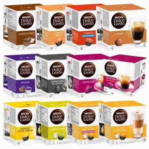 Capsulas Nescafe Dolce Gusto X10 Cajas. Envio Sin Cargo
