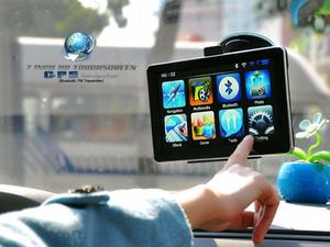 GPS HD CON TV DIGITAL, LCD 7PULGADAS, MAPAS GARMIN CARGADOS.