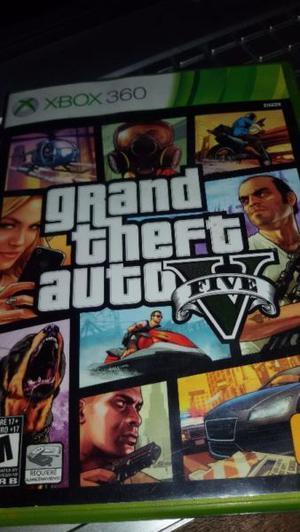 Grand Theft Auto V Xbox 360 Original Impecable