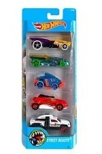 Hot Wheels Set De 5 Autos