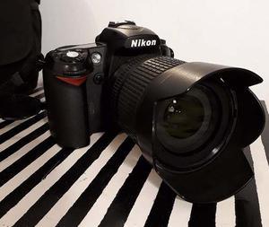 Nikon D90 Completa, Con Lente  En Caja Original Nikon
