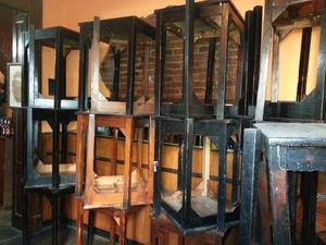 mesas de bar madera usadas