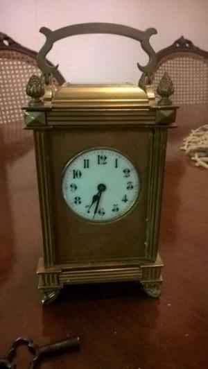 Antiguo Reloj de Carruaje Francés