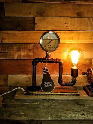 Mechas para lamparas a kerosene posot class - Lamparas estilo industrial ...