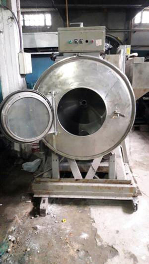 Lavadora industrial frontal de 50 kilos