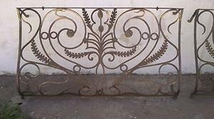 vendo balcones en hierro forjado antiguos