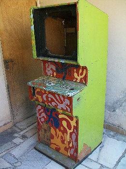 3 muebles video juego arcade