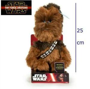 Chewbacca Peluche Star Wars Yoda Darth 25 Cm Original.