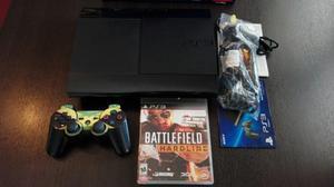 Consola Play Station 3 Ultraslim + Battlefield Hardline