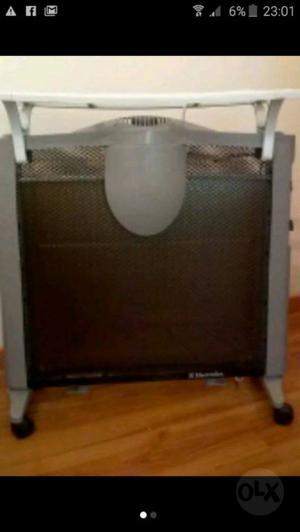 Estufa panel radiador