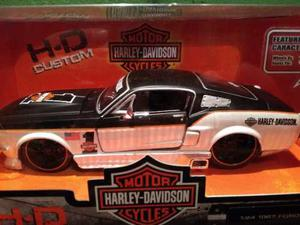Harley Davidson Ford Mustang Gt Escala 1/24 Maisto