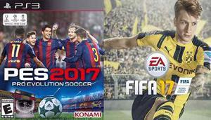 Playstation 3 Ps3 Con 130 Juegos Fifa 17 Pes17 Nueva Gara 50
