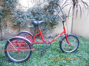 bicicleta de 3 ruedas
