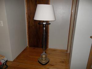 lampara de pie artesanal