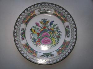 plato de colgar de porcelana
