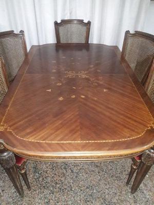 Mesa de sala estilo luis xvi buenos aires posot class - Mesa comedor antigua ...
