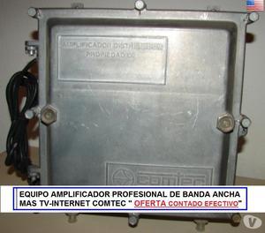Amplificador De Señal Para Catv+datos Internet + Tv