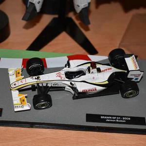 Coleccion F1 Salvat Brawn G P Jenson Button Hacemos Envios