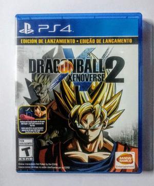 DRAGON BALL XENOVERSE 2 PS4 MUY POCO USO