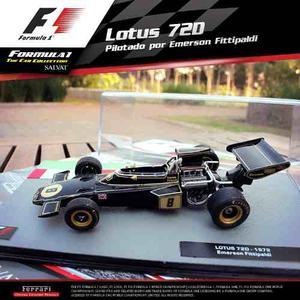 Formula 1 Uno Salvat Lotus  Emerson Fittipaldi Nº7