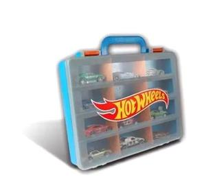 Hot Wheels Valija Guarda Autos Intek - Jugueteria Aplausos