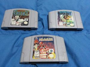 Nintendo 64 Bio Freaks, Dark Rift y Mace The Dark Age