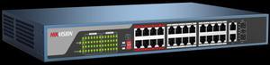 Switch Hikvision Modelo Ds-3ep-e 24 Puertos - Poe