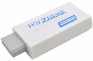 Adaptador Wii A Hdmi Y Audio 3.5mm Sin Uso