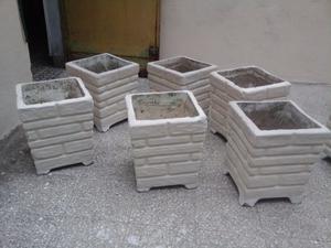 macetas artesanales en cemento posot class