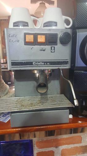 Maquina De Cafe Express Criollo