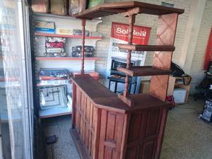 Mueble Barra bar Algarrobo