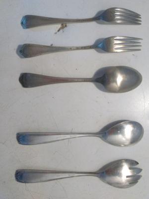 Tenedores y cucharas alpaca Silco U.S.A