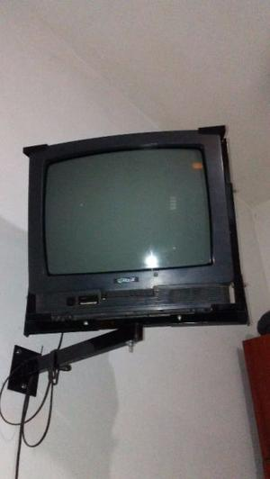 "Vendo TV 20 "" con soporte de pared"