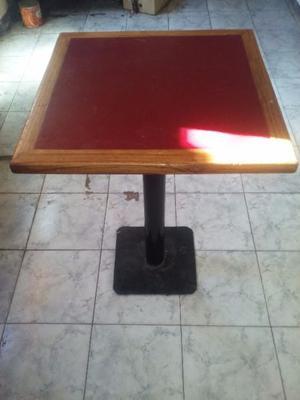 vendo juego de mesas para cafe