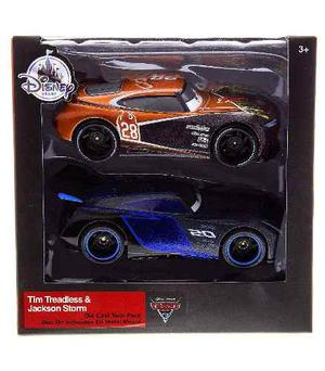Autos Cars 3 Tim Treadless Y Jackson Storm Deluxe Edition