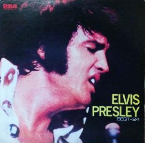 ELVIS PRESLEY Japon -LP BEST 24