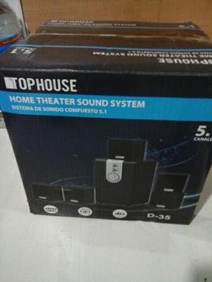 Home Theater 5.1 Top House D-35 Nuevo Sin Uso