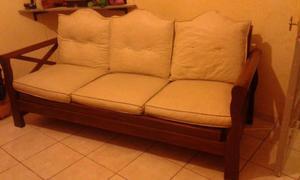 Juego de futones, uno de 3 cuerpos y dos simples.