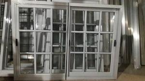 Ventana Aluminio 150 X 110 Vidrios Repartido