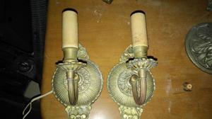 Venta de apliques antiguos posot class - Apliques de bronce para muebles ...