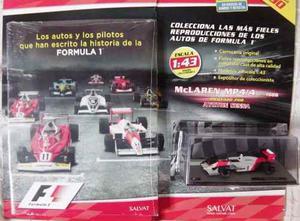 Colección Fórmula 1 Salvat N° 1: Mc Laren Mp4/4