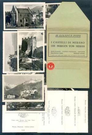 Filasur. Bolzano. Pack X 10 Antiguas Liliput Foto Postales