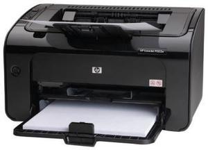 Impresora Hp Laser Negro w Toner 85a